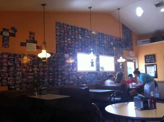 Phillip Arthur's Ice Cream, Pizza and Subs: lot of pictures to look at