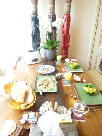 Suite 259: le petit dejeuner