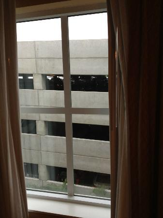Homewood Suites Tampa Airport - Westshore: View of parking garage from room