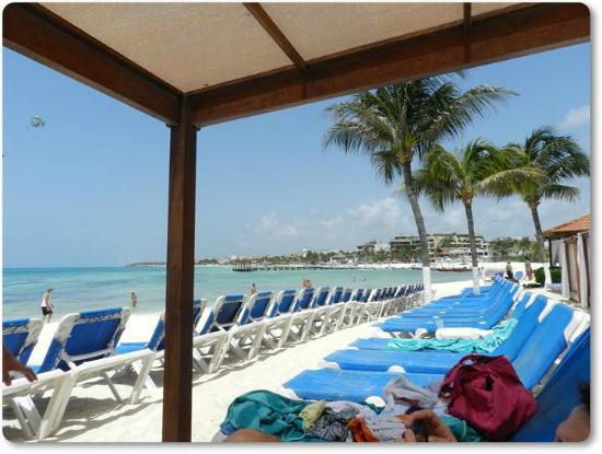 Real Playa del Carmen: Club de playa