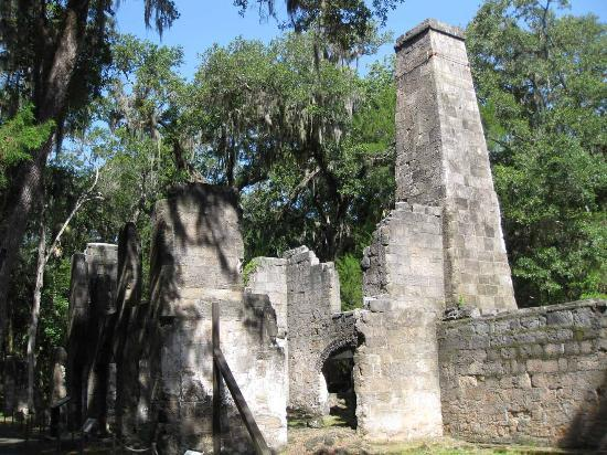Ormond Beach, Флорида: Bulow Ruins