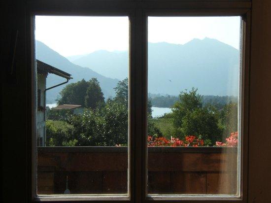 Krinnerhof: Vista dal nostro appartamento