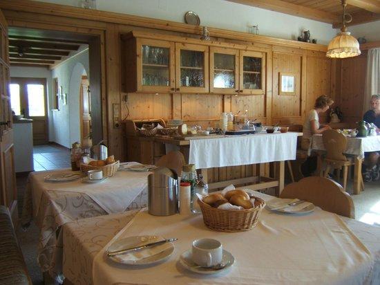 Krinnerhof: Sala colazione