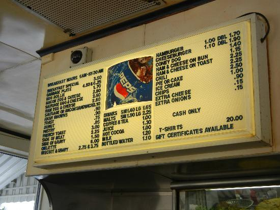 Fort Wayne, IN: Menu