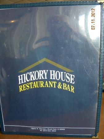 Hickory House Restaurant and Lounge: Menu