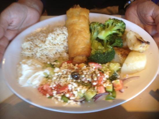 Yiama's Greek Taverna : vegetarian greek dish