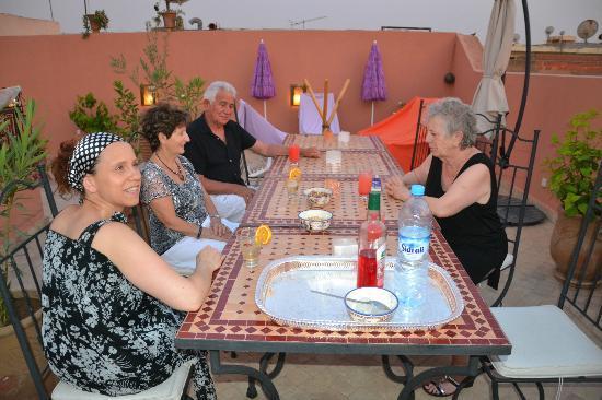 Riad Charme d'Orient: Nos bons moments
