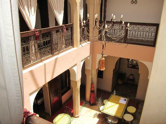 Riad Fantasia Prestige: View from balcony