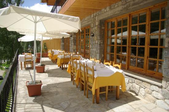Hostal La Cabanya: bona terrassa