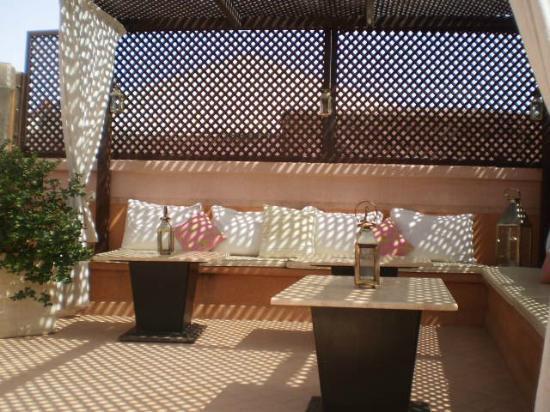 Riad Mazaya: toit-terrasse