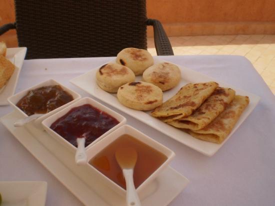 Riad Mazaya: petit-déjeuner