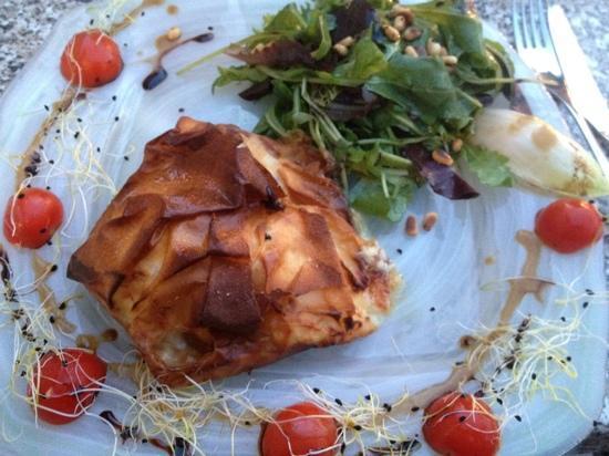 Cucina Vera : salade de chèvre aux pommes