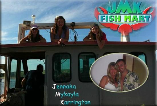 JMK Fish Mart : Family owned & operated