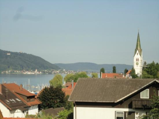 Lupinenhotel Bodensee: View from the terrace