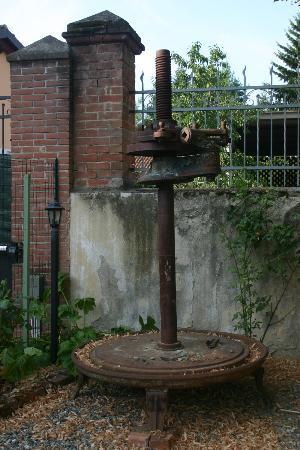 La Chicca B&B: Part of old olive press