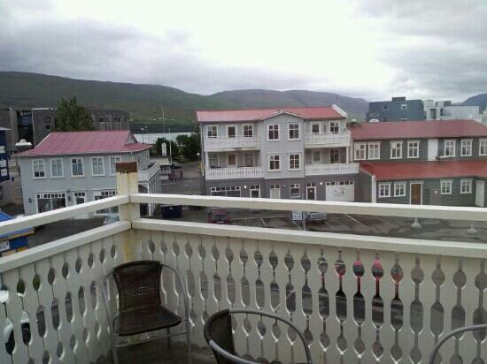 Hotel Ibudir : vista dalla camera