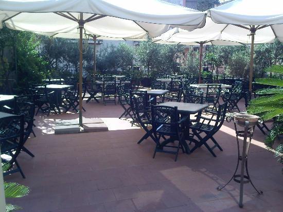 Hotel delle Palme: Terrasse