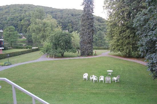 Hotel Villa Gracia : Giardino sul fiume perfetto