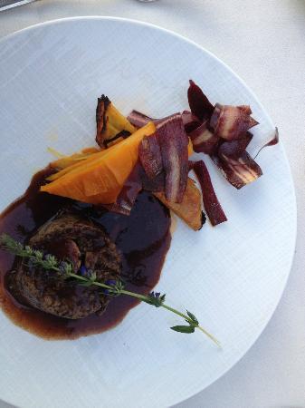 Relais de la Malmaison Paris Rueil Hotel & Spa: Paleron de boeuf au foie gras