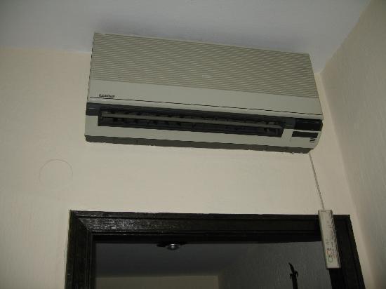 Hotel Temple Ponferrada: Aire acondicionado