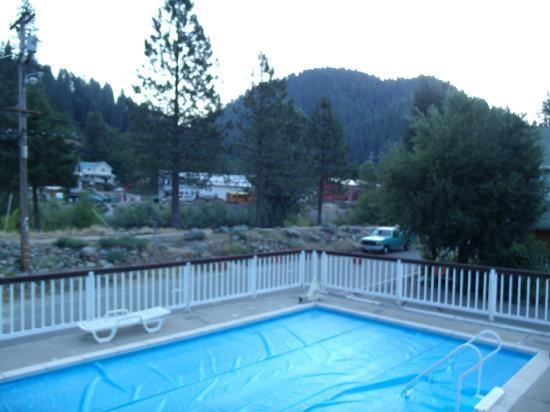 Downieville River Inn and Resort: View from room 12