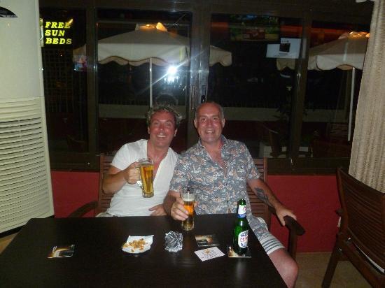 The Luna Bar: Jamie n Andrew