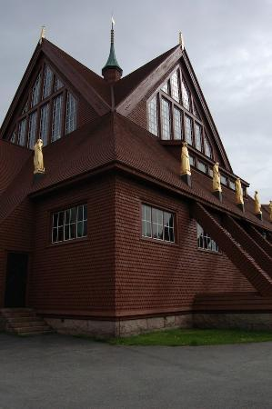 Kiruna Kyrka: Church in Kiruna, exterior view