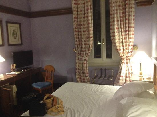 Hotel Albani Firenze: nuestra habitacion