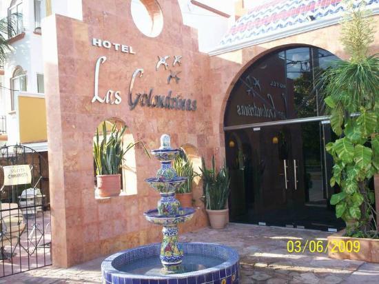 Hotel Las Golondrinas: frente