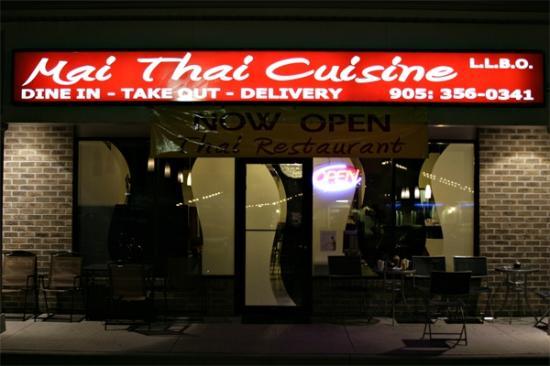 Mai Thai Cuisine: Mai Thai serving Niagara Falls Ontario