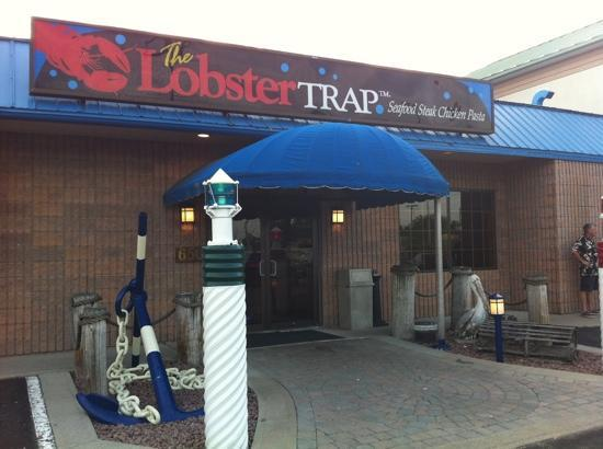 Lobster Trap Restaurant : entrance