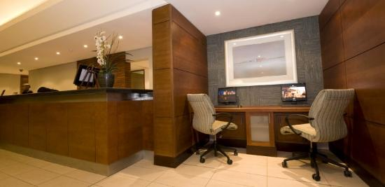 City Lodge Hotel Johannesburg Airport - Barbara Road: Lobby
