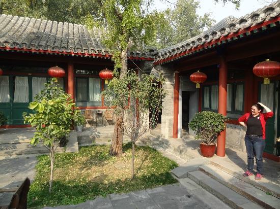 Beijing Sihe Courtyard Hotel: Courtyard was cute