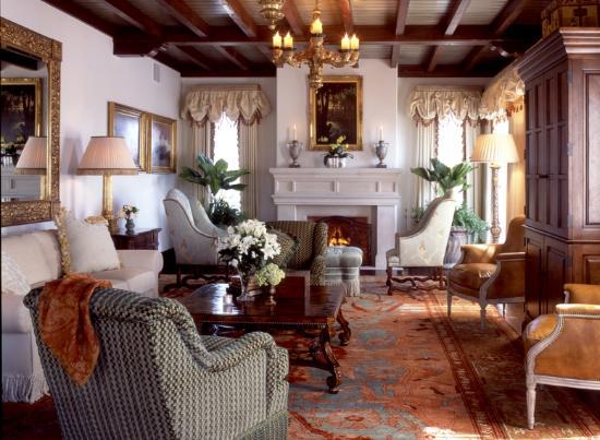 The Cloister at Sea Island: Sea Island Suite Living Room