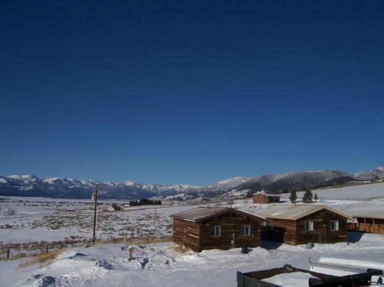 Eino's Bar: View in the winter time-Still breath taking