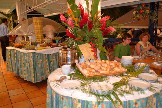 Karibea Squash Hotel: Gastronomie Squash