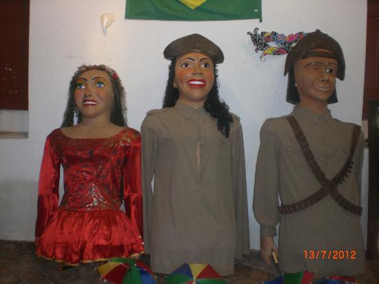 Centro Histórico - Bonecos de Olinda