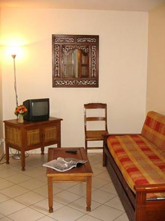 Nemea Appart'hotel Val Dancelle : Living Room