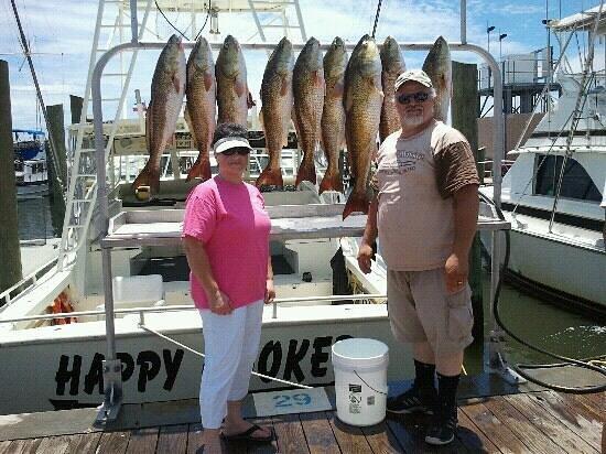 The happy hooker fishing charter biloxi all you need for Fishing in biloxi ms
