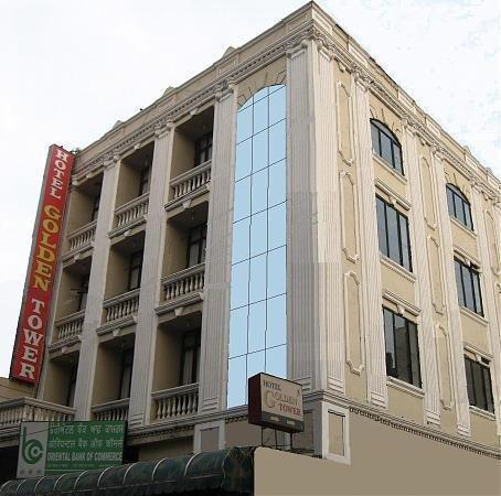 Hotel Golden Tower: Front View