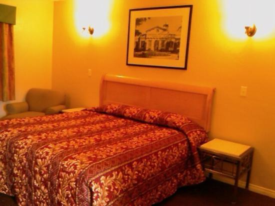 Aqua Inn Motel: Kiing Room