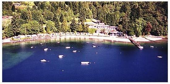 Mikes Beach Resort: Air View