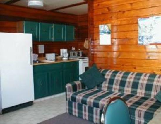 Snow Valley Motel & RV Park: Cedar Kitchenette
