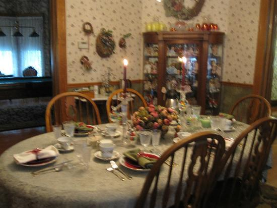 Hollerstown Hill Bed and Breakfast: Breakfast at Hollerstown Hill