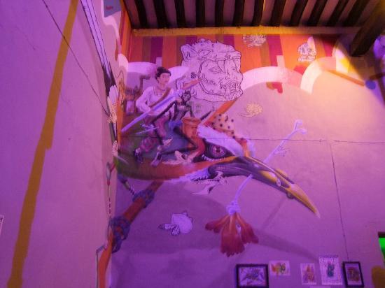 Conato 1910 : mural fusion mexico prehispanica