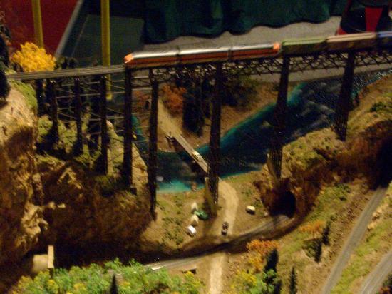 Colorado Model Railroad Museum: A HIGH WOODEN TRESTLE
