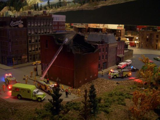 Colorado Model Railroad Museum: FIRE!