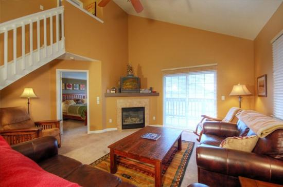 Quail Run / Villas at Walton Creek : Living Room