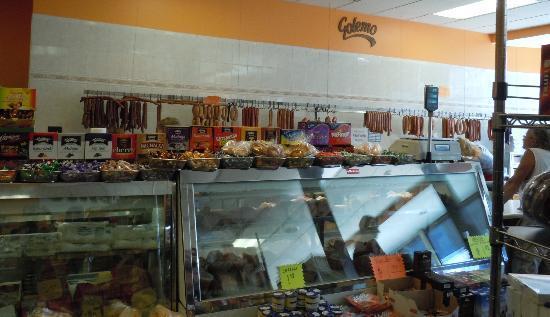 Golemo's Market deli counter