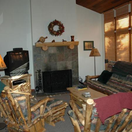 Crescent Ridge by ResortQuest: Living Area
